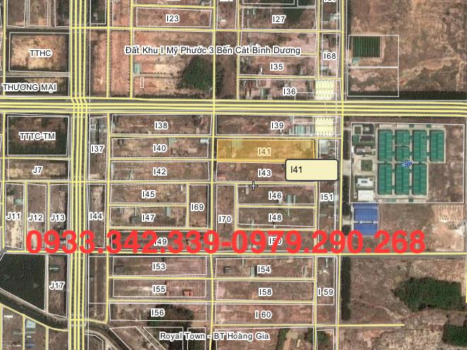 Cần bán đất lô i41 hướng Nam lô i41 đối diên KCN Kingtec